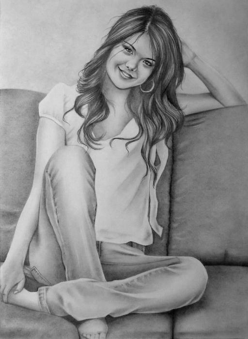 Selena Gomez por whitelily